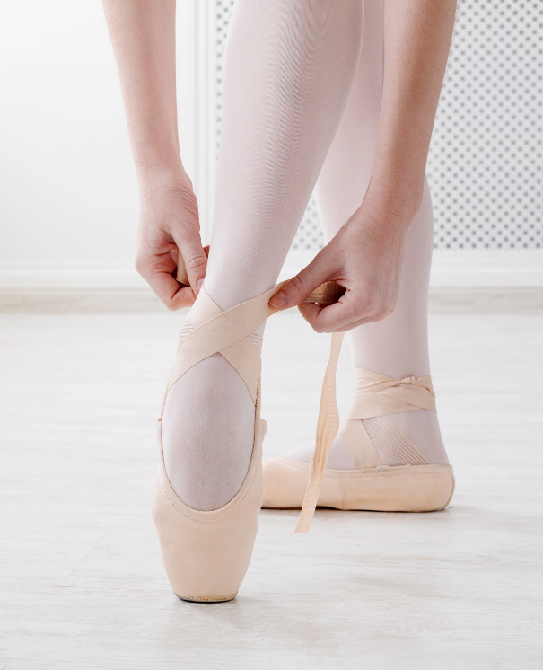 Ballet shoes and accessories
